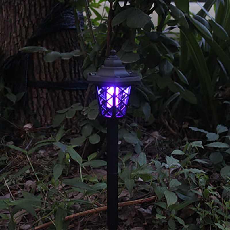 2019 יתושים רוצח-מנורת שמש מופעל LED שקע חשמלי יתושים לטוס באג חרקים מלכודת רוצח לילה מנורת אור גן יתושים