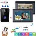 Смарт-видеодомофон SmartYIBA, Wifi, IR-CUT, HD камера, ip-домофон, ночной вид, видео дверной звонок, кольцо, видео-телефон двери, дверной звонок, комплекты