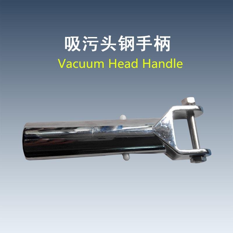 3pcs/lot Free shipping Plate <font><b>pool</b></font> <font><b>vacuum</b></font> head chrome handle Swimming <font><b>Pool</b></font> & Spa <font><b>Vacuum</b></font> Swivel Handle (Metal)