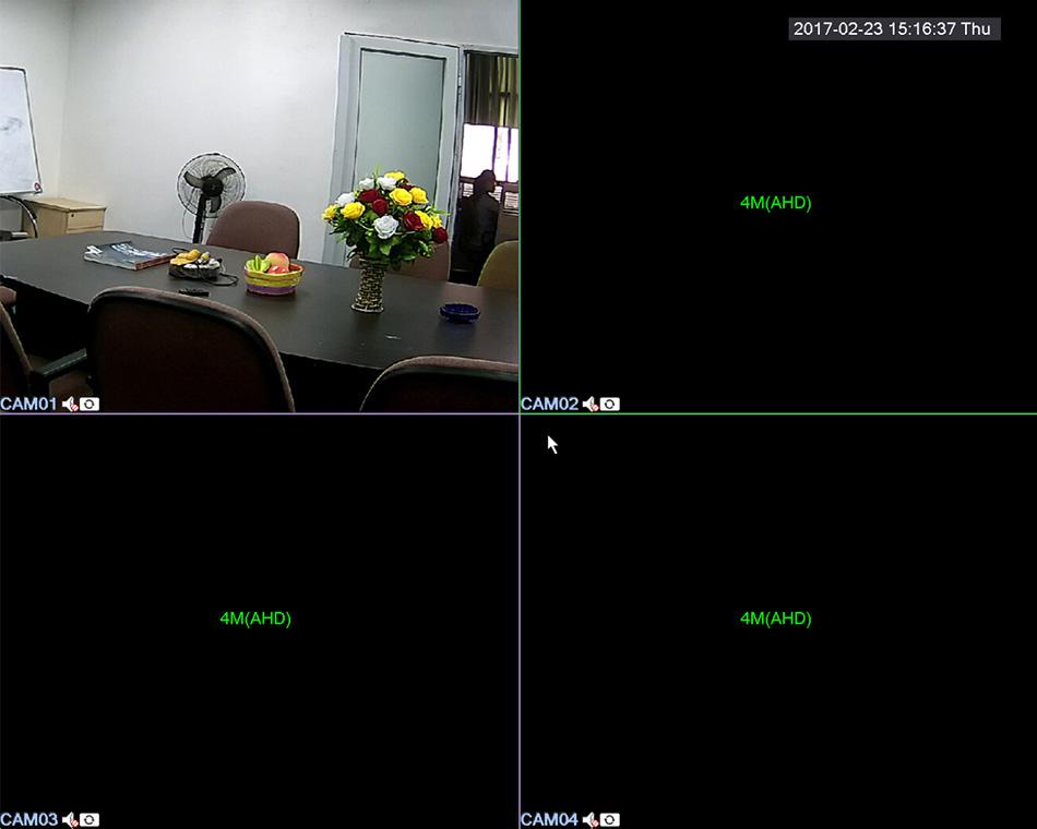 XQ3-5 in 1 Security CCTV DVR 4CH 8CH AHD 4MP 3MP 1080P-2304GS 2308GS