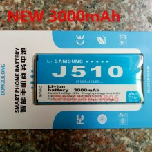 NEW DLL 3000mAh EB-BJ510CBC Mobile Phone Battery for Samsung Galaxy J5 2016 Edition j5109 j5108 J510 Phone