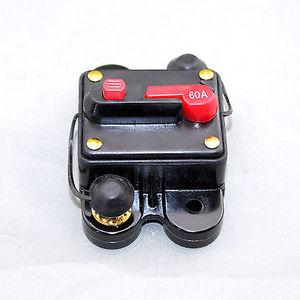 Image 1 - 50A 60A 80A 100A 150A 200A 250A 300A Auto Audio Inline Stroomonderbreker Zekering voor 12 V Bescherming SKCB 01 60A