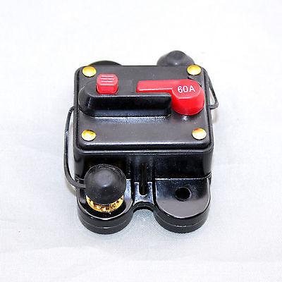 50A 60A 80A 100A 150A 200A 250A 300A Auto Audio Inline Stroomonderbreker Zekering voor 12 V Bescherming SKCB 01 60A
