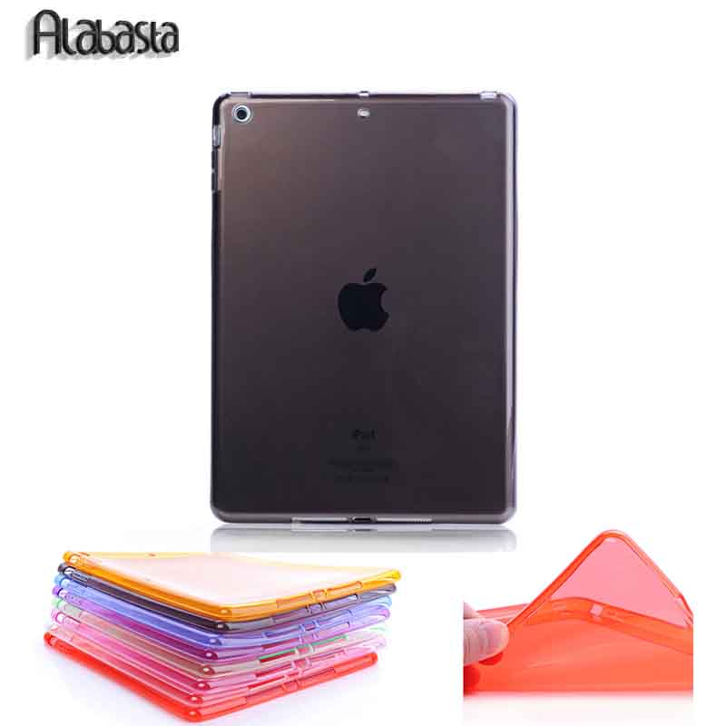 Alabasta For iPad Mini 12/3/4 TPU Soft Full Protect Transparent Case for iPad 2/3/4/5/6 Air 12 Shell Back Case  Skin Cover купить
