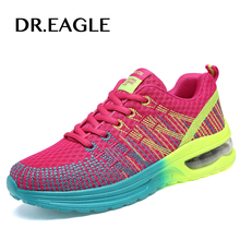 DR.EAGLE woman sneakers sport shoes female Gym Comfortable Cushioning free run Fly fabric women running shoes women krasovki
