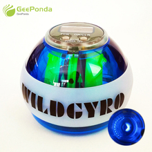 GeePonda освещение подсчета гироскоп силы мяч дома спортивный инвентарь наручные Мощность Авто фитнес предплечья тренер