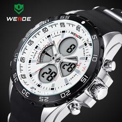 2016 New WEIDE Fashion <font><b>Led</b></font> Digital Quartz Watches Men Military Sports Watch Waterproof Male Wrist watches Relogio Masculino
