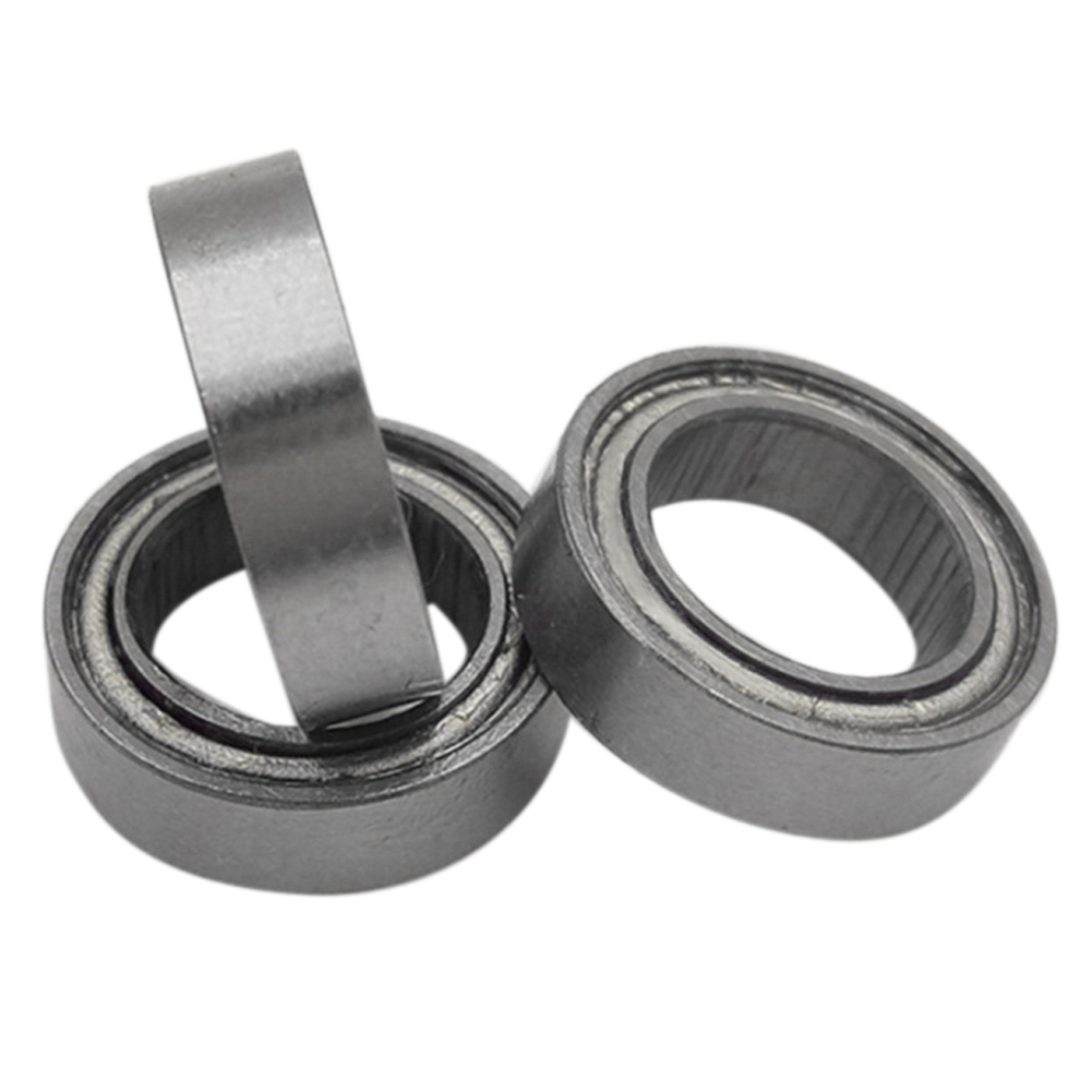 10Pcs/Lot Miniature Deep Groove Ball Bearing Single Row Rubber Double Sealed Radial Ball Bearing MR117ZZ 10pcs 5x10x4mm metal sealed shielded deep groove ball bearing mr105zz