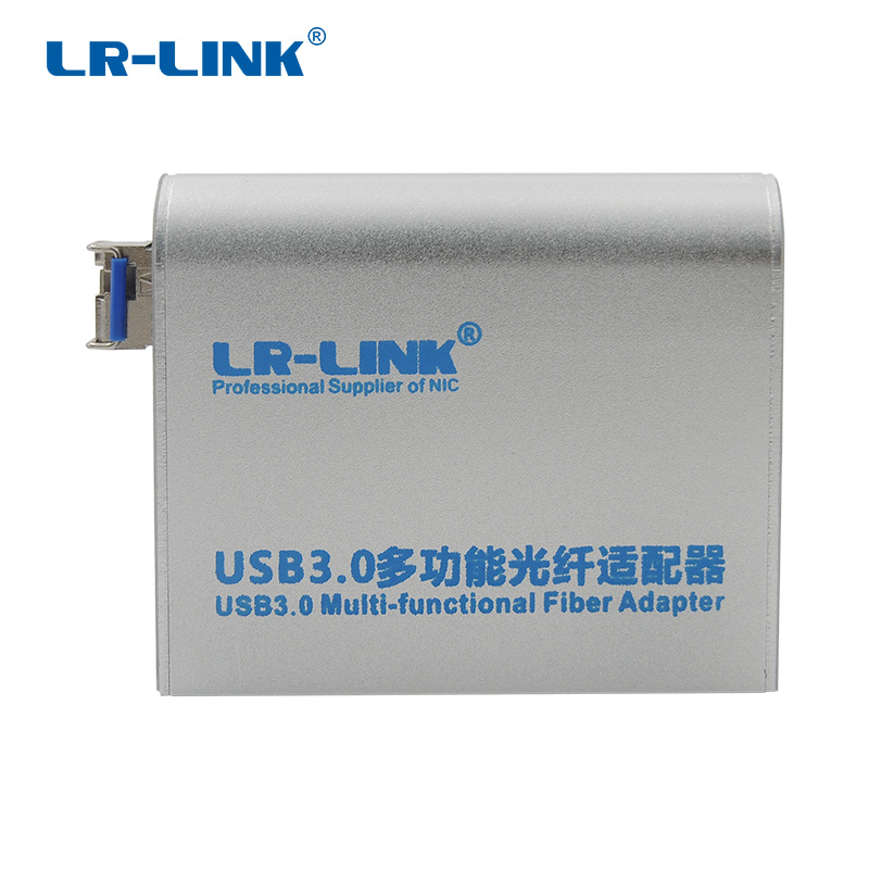 LR-LINK 3210PF-SFP 1000Mb Ethernet Adapter USB 3.0 2.0 1.1 Network Card Gigabit Lan Fiber Optical Win 7 8 10 Realtek RTL8153 usb 3 0 1000mbps gigabit ethernet adapter usb to rj45 lan network card 3 port usb3 0 hub for windows 7 8 10 vista xp macos pc