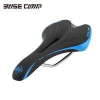 BaseCamp Road Mountain Bike Bicycle Saddle High Elastic Foam Comfortable Bicycle Parts Cycling Seat Mat Cushion