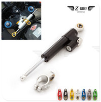 CNC Universal Aluminum Motorcycle Damper Steering Stabilizer Safety Control For Ducati SS1000 1000S M1000S S4 S4R 916SPS