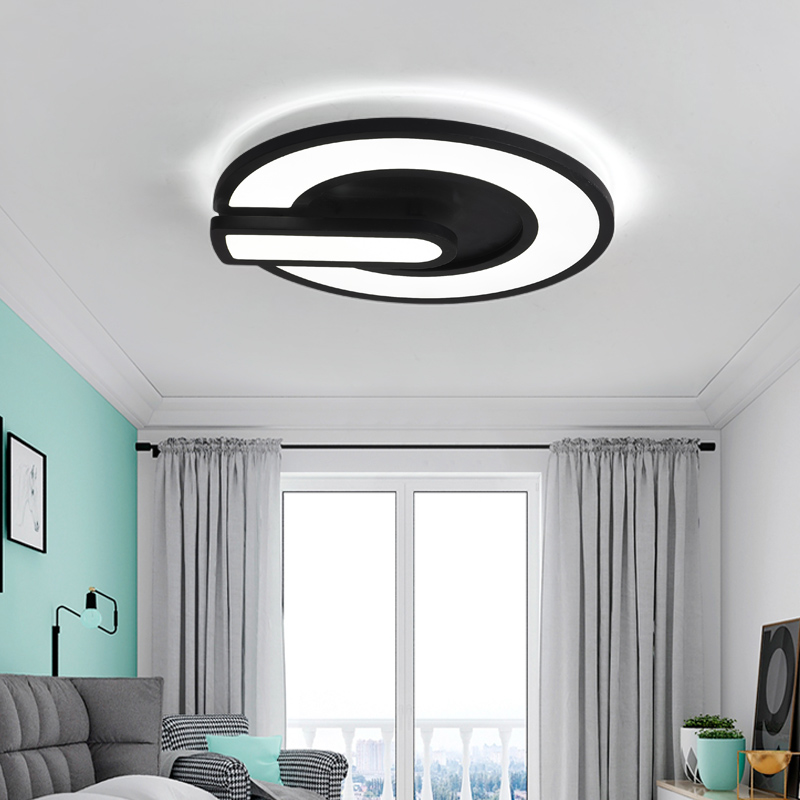 Modern Ceiling Lights LED lamp for Living Bed room lamparas de techo colgante moderna Metal LED Ceiling Lamp with remote control