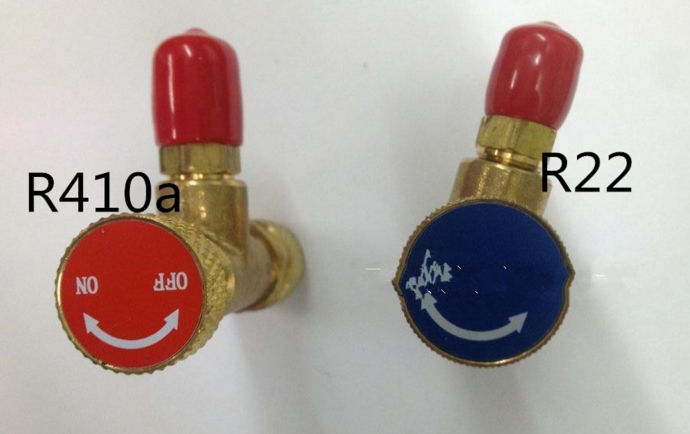 air conditioning plus special valve refrigeration tools R22/R410 plus fluoride safety valve fluoride tools parts 3pcs lot new r410 r22 air refrigeration charging adapter refrigerant retention control valve air conditioning charging valve