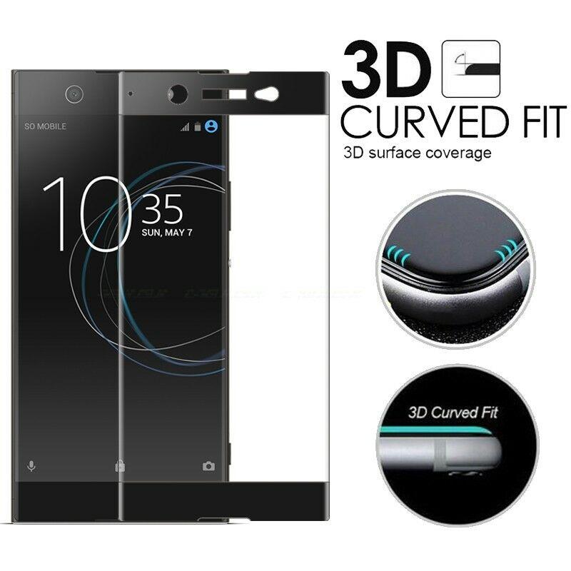 3D Full Coverage Tempered Glass For Sony Xperia XZ4 XZ3 XZ2 XZ1 XZ X Compact Premium Phone Protective Film Screen Protector