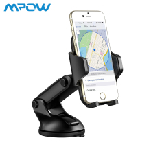 Mpow Car Phone Holder Dashboard Adjustable Universal Cell Mount Stand Windshield Mobile Cradle for iPhone Xs Xr 8 7
