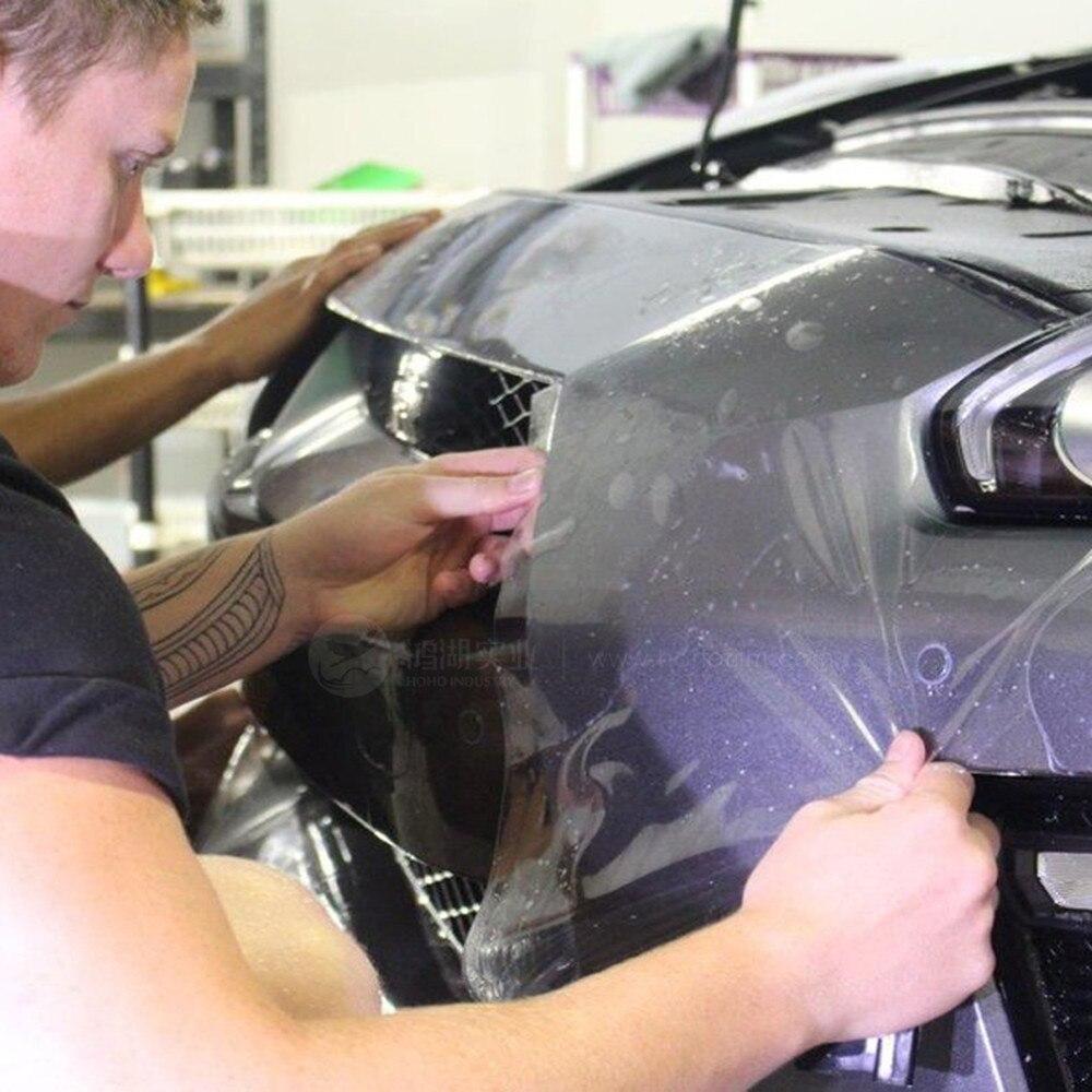 Sunice AUTO guérison PPF Transparent 3 couches peinture Protection Film voiture Wrap clair protéger Film AUTO RPTECTIVE autocollants 0.5*10 M