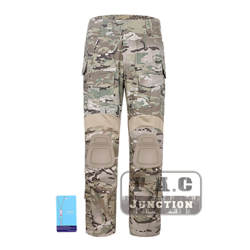 Emerson Tactical G3 Combat Pants Emersongear CP Style Battlefield Trousers Assault BDU Uniform With Knee Pads