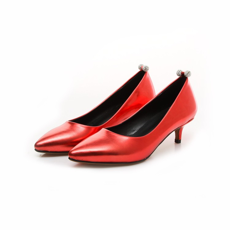Big Size 34-43 Shoes Woman 2017 New Arrival Wedding Ladies Low Heel Shoes Fashion Sweet Dress Pointed Toe Women Pumps Jh020-1 plus big size 34 52 shoes woman 2017 new arrival wedding ladies high heel fashion sweet dress pointed toe women pumps e 177