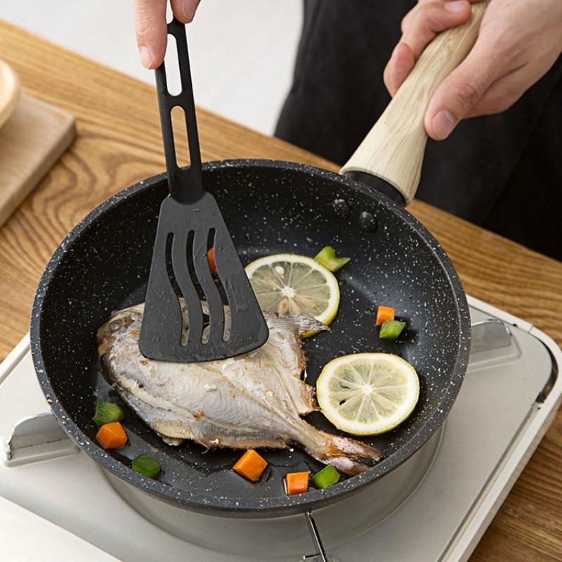 Small frying pan of maifan stone titanium pan household induction cooker steak pan Fried egg pancake pan LM01031117