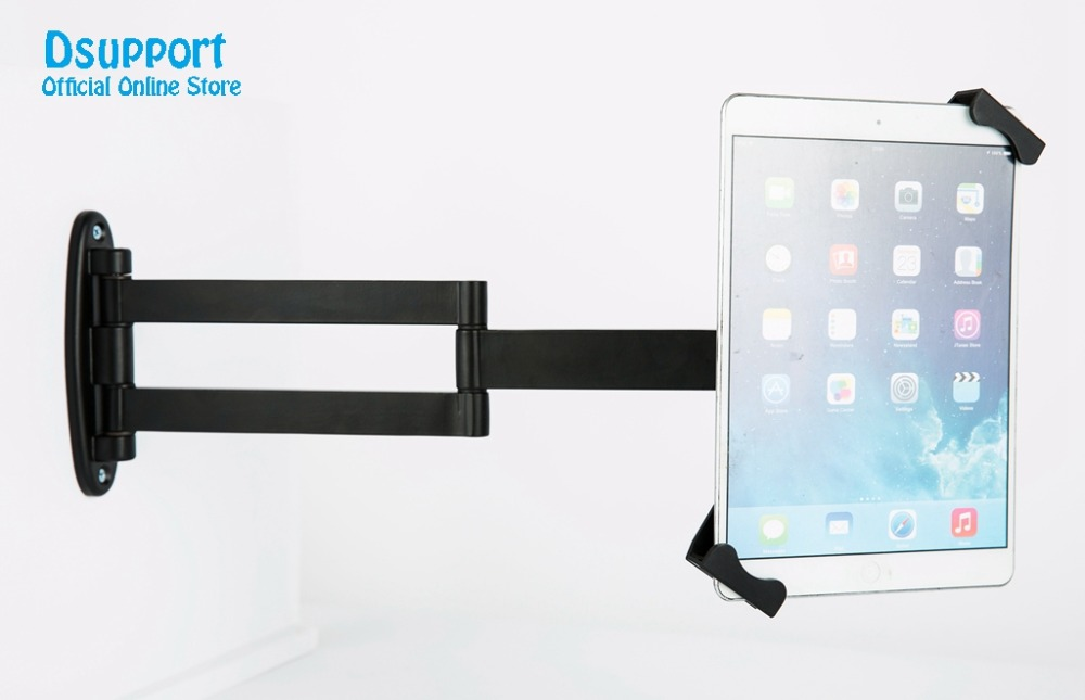 все цены на Universal tablet PC stand wall mount for 7 to10.1 inch tablet pc stand with security lock anti-theif tablet pc stand