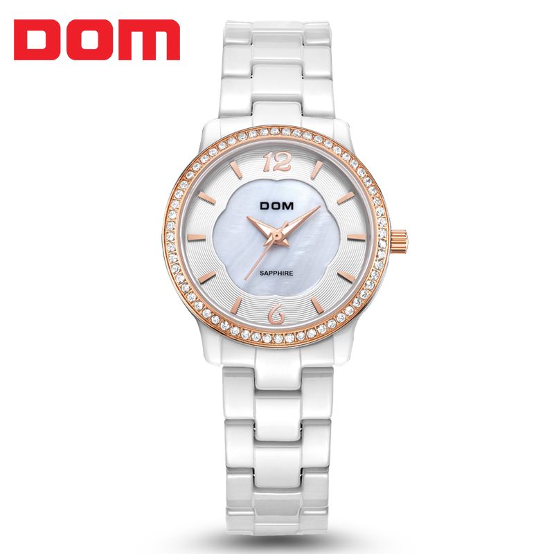 2016 luxury fashion swan ceramic watch women crystal rhinestone nobda brand quartz watch beauty. Black Bedroom Furniture Sets. Home Design Ideas