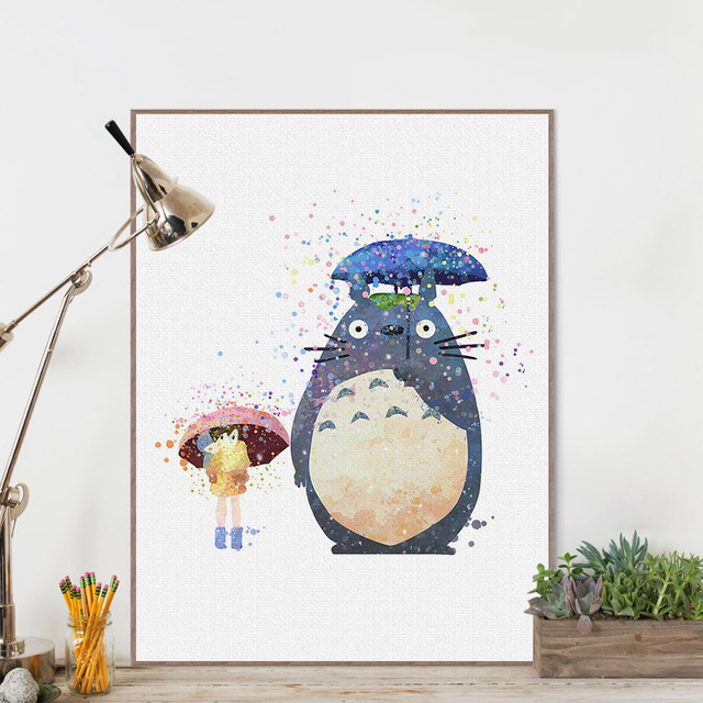 Totoro Poster – Home Decoration