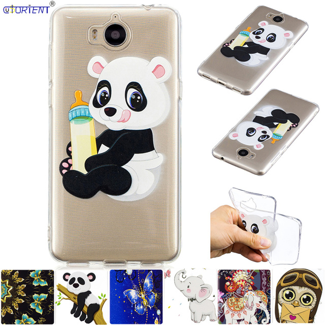 Huawei Y5 2017 Y6 2017 Fitted Phone Case Nova Young MYA-U29 MYA-L22 Soft Silicone Cute Cover MYA-L41 MYA-L11 MYA U29 L22 Funda