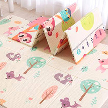 Soft Foldable Baby Play Mat Infant Carpet Child Game Pad XPE Kids Room Playmat Gym Floor Crawl Blanket Big Size(China)