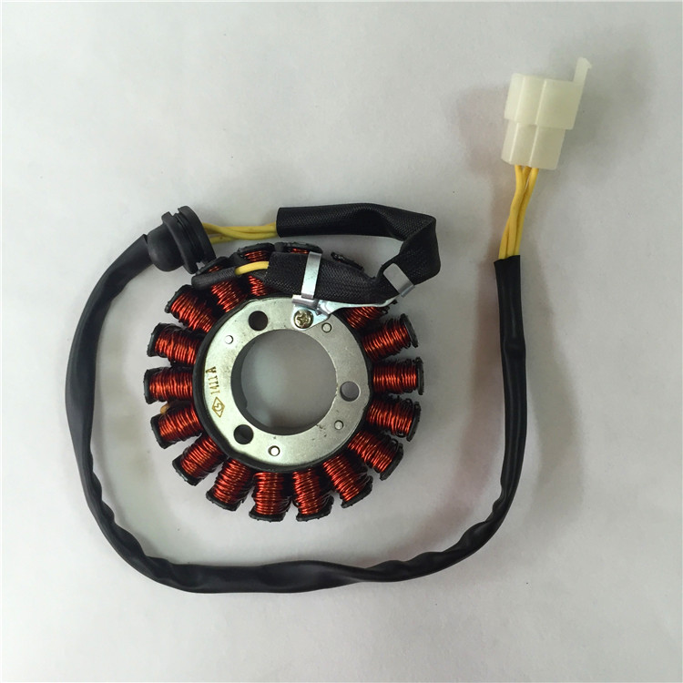 ФОТО STARPAD For 18 for Honda 125 motorcycle accessories Granville collar collar WH150 ignition coils of the stator coil