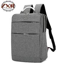 Zuoxiangru Solid Business Waterproof Nylon Durable Laptop Notebook Backpack Bags Case for Men Women Working School Student(China)