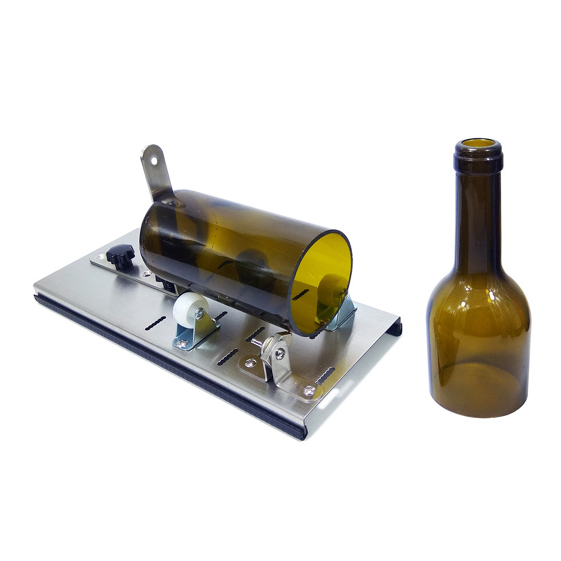6pcs/set Metal Cutter Glass Wine Bottle Cutter  Stainless Steel Bottle Cutters For Cutting Machine DIY Craft Recycle Tool