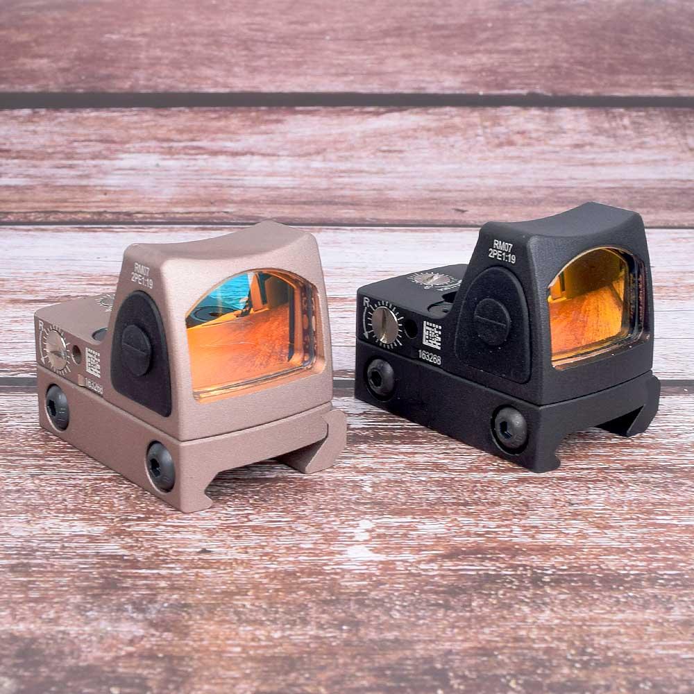 Hunt Sight Mini RMR Red Dot Sight Collimator Glock / Rifle Reflex Sight Scope Fit 20mm Weaver Rail For Airsoft / Hunting Rifle