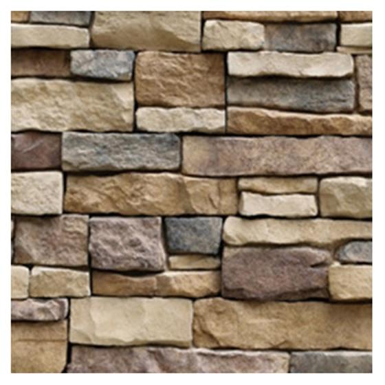 Best 3D Stone Wall Vinyl Nature Emboss Roll Brick Wallpaper Tv Background Sticker(Rock pieces)45*100cm maquina de coser de mano