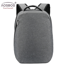 Aosbos 2019 Brand Solid Canvas Backpack School Backpack Bags for Teenagers Large