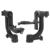 Movo Pro Panorâmica Cardan Pan profissional Cabeça do Tripé para a Lente para Câmera DSLR FW1S