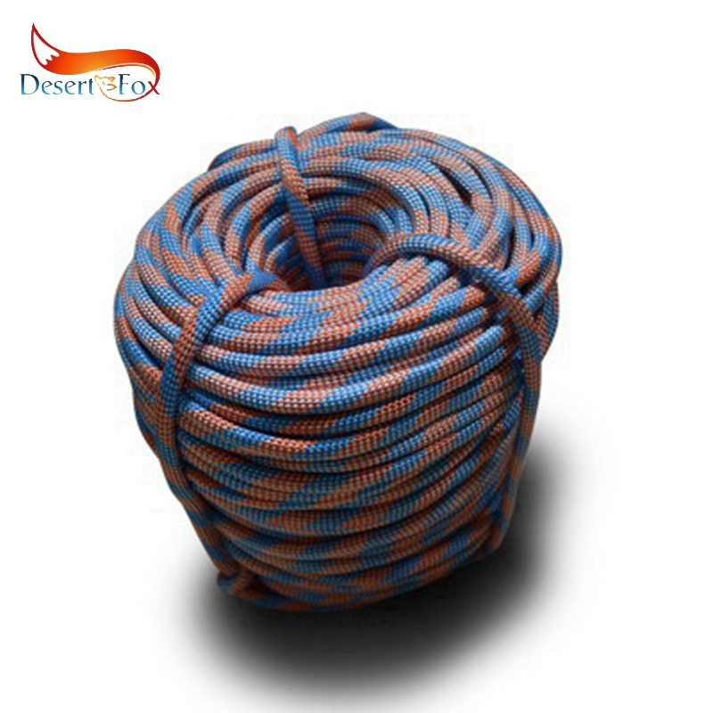 Desert&Fox Climbing Outdoor Emergency Rope 10m/20m/30m/50m Resistant 9mm Diameter