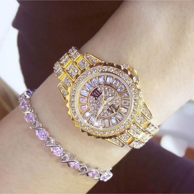 c07dd016343a2 placeholder Dress Watches Women Exquisite Top Luxury Diamond Quartz Ladies  Watch Fashion Gold Wristwatch Women watches saat