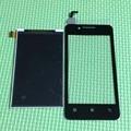 Melhor qualidade black display lcd + touch screen digitador para lenovo a319 a319 peças de reparo do telefone móvel