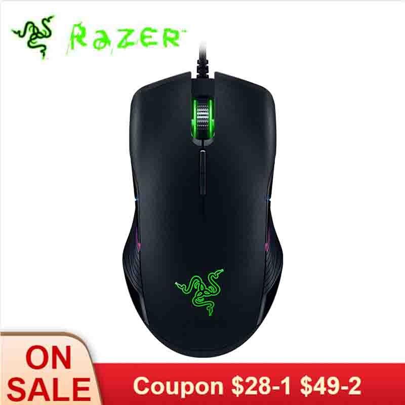 Razer souris Lancehead tournoi édition filaire souris de jeu 16,000 DPI 5G capteur optique 450 IPS conception ambidextre
