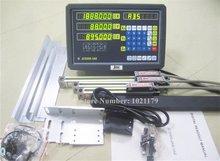 Новый фрезерный токарный станок сверлильный станок DRO комплекты 3 оси Цифровой индикация с масштабная линейка 100-1000 мм 5 микрон линейный энкодер