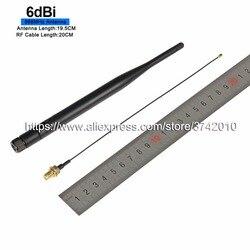 6dBi 868 MHz antenne modul luft SMA stecker folding antenne (einschließlich RF kabel)