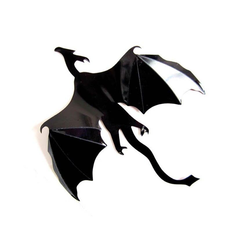 Лидер продаж 7 шт./компл. Хэллоуин Фэнтези Декор динозавров мальчиков номеров Игра престолов 3D драконы стены Книги по искусству Наклейки на ...