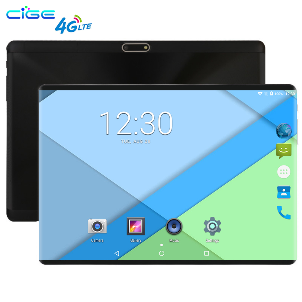 10 Inch Tablet PC 3G 4G LTE Octa Core 4GB RAM 64GB ROM Dual SIM 8.0MP Android 8.0 GPS 1280*800 HD IPS Tablet 10
