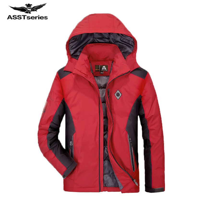 Free Shipping Autumn And Winter New Mens New Leisure Down Jacket Warm Pizex Winter Outwear Large Size Coat CXY192