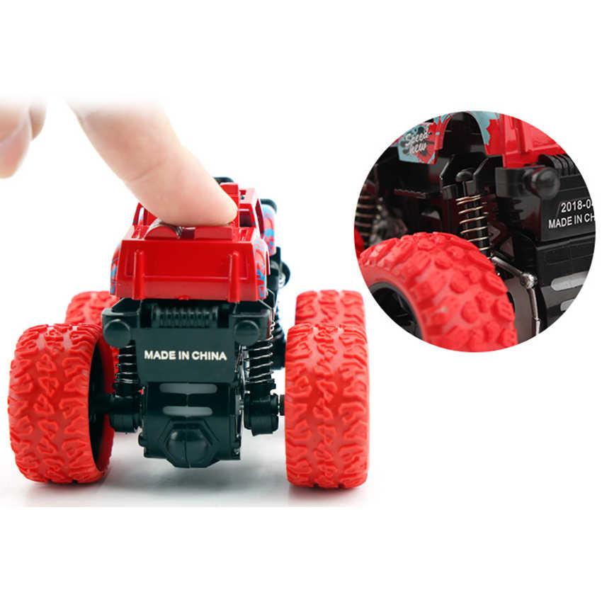Nova chegada rodas quentes carro brinquedo unidade inércia fora da estrada veículo simulação modelo anti-queda menino carros brinquedo crianças presentes de aniversário