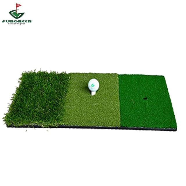 Fungreen 12''x24'' Mini Golf Hitting Mat Indoor Outdoor Backyard Practice Golf Mat Protable Golf Swing Training Aids