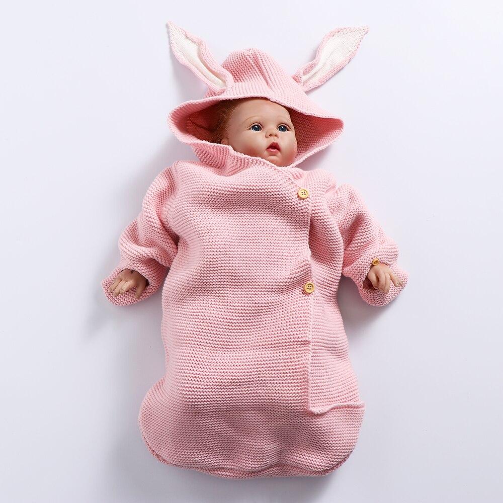 1 Stück Baby Decken Umschlag Für Neugeborene Baby Deckt Niedlichen Kaninchen Ohr Swaddling Baby Wrap Fotografie Neugeborenen Baby Mädchen Kleidung