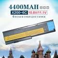 6 celdas de batería del ordenador portátil para lenovo thinkpad x200 x200s 42t4834 42t4835 43r9254 42t4536 42t4537 42t4541 x201 x201i x201s 42t4538