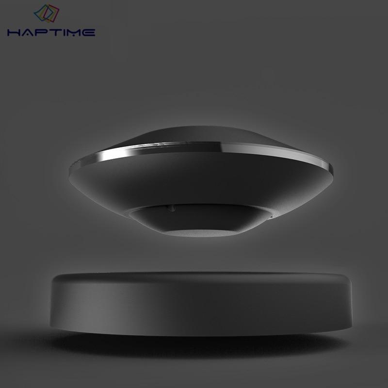 Haptime супергравитации магнитной левитации Bluetooth Динамик USB Беспроводной Bluetooth maglev Динамик левитации вращающийся Динамик