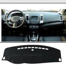 20062007 2008 2010 2011 2012 для Mitsubishi Outlander приборной панели автомобиля крышка Избегайте света Pad приборной платформы приборной панели Крышка